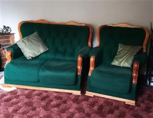 2 x 2 seater , 2 x 1 seater coutches and a lazy boy