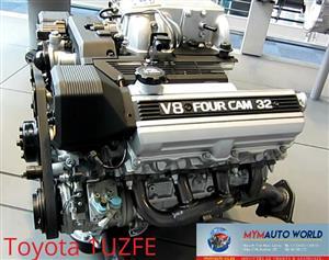 Imported used  TOYOTA LEXUS 4.2L VVTI, 1UZFE VVTI engine Complete
