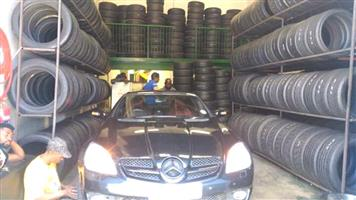 Quality Second Tyres, Used Tyres 90% live