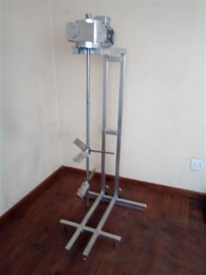 Detergent mixing machine. Powder soap mixer. Bar soap making machine