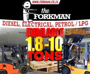 FORKLIFTS RENTAL AND SALE IN PRETORIA