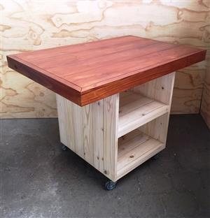 Kitchen Island Chunky Farmhouse series 1200 Stained