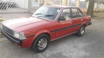 1981 Toyota Corolla 1.8 Exclusive automatic