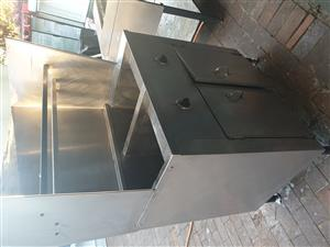 Deep Fryer - Stainless steel - 3 phase power
