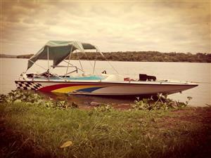hallet Speedboat For sale