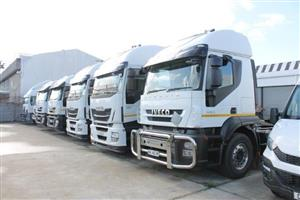 Im renting out 30 IVECO STRALIS  with affret side tiper trailers