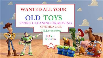 Wanted All Toys in good to fair condition