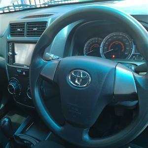 2018 Toyota Avanza AVANZA 1.3 SX