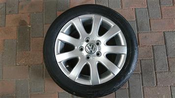 15 Inch Volkswagen Polo Magwheel
