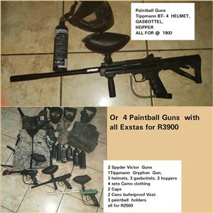 Tippmann Paintball gun Plus exstas