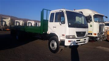 Nissan UD 100 with Dropside body,Tow hitch