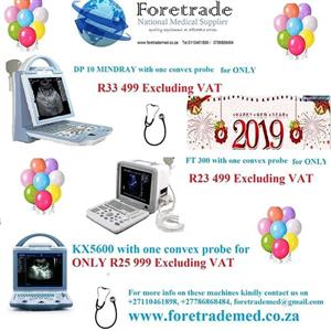 Ultrasound Sonar Machines on special from R23 499