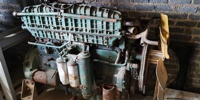 Volvo D10 engine