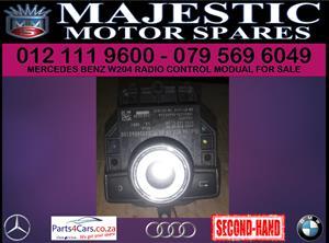 Merc W204 radio control unit for sale
