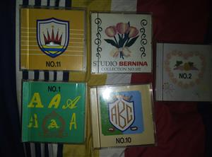 Used, 5 embroidery machine cards berinina deco, brother, babylock, simplicity, viking for sale  Germiston