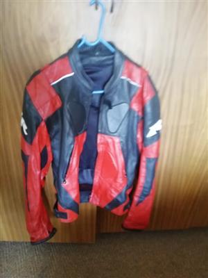 Helmets and jacket