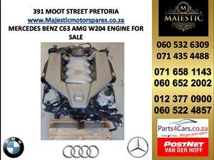 Mercedes benz C63 AMG engine for sale