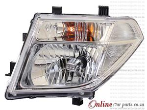 Nissan Navara Left Hand Side Electric Head Light Without Motor
