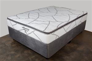 Fantaisie Pillow Top Queen Mattress and  Base Set