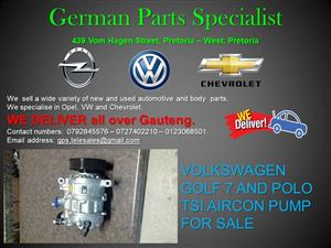 VOLKSWAGEN GOLF 7 AND POLO TSI AIRCON PUMP FOR SALE