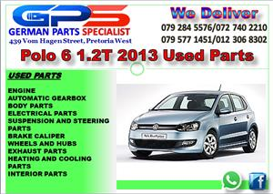VW POLO 6 1.2T 2012 USED PARTS FOR SALE