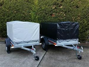 Car camping box trailer