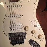 Fender Stratocaster Signature Richie Sambora Arctic White No Case