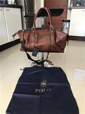 Polo Leather Duffel Bag
