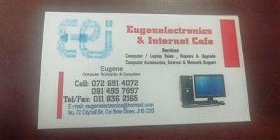 Eugene Electronics and Internet Cafe