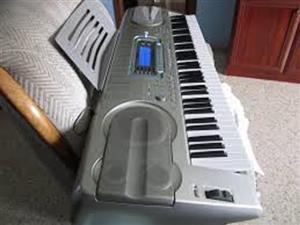 kasio piano keyboard battery wk  3 700