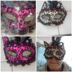 Pink and grey masks for sale