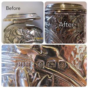 ANTIQUE REPAIRS TO ALL SILVER,PEWTER, BRASS AND COPPER ITEMS