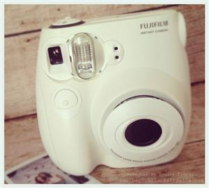 BARGAIN-->>Instax Mini 7S **DUSTY PINK & STONE(off-white)** sell/swop for cellphone