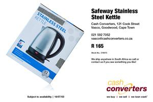 Safeway Stainless Steel Kettle