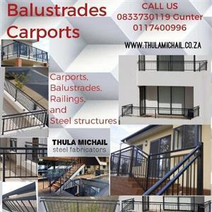 balustrades and car parks