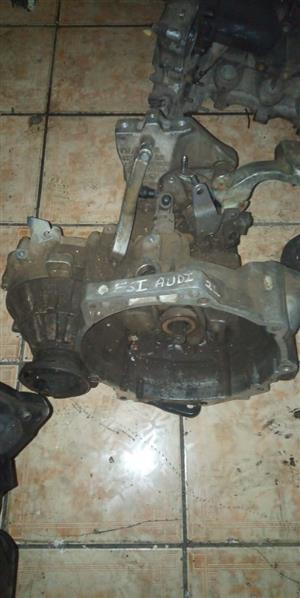 AUDI 2.0 FSI MANUAL 6 GEAR BOX