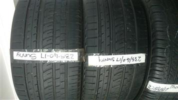 "15""16""17""18""19""20""21""22""Second hand tyres Pretoria."