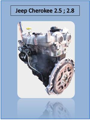 JEEP CHEROKEE 2.5- 2.8 ENGINE