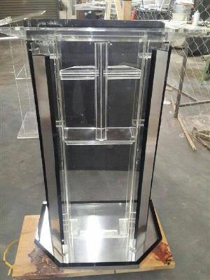 Silvered podium,pulpit