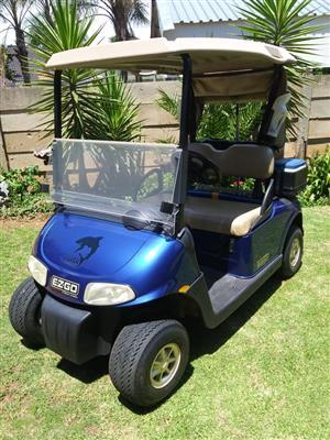 Golf Cart and Trailer