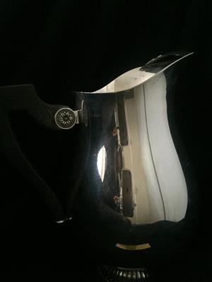 Christofle Silver Plated Water Pitcher.  Style:  Malmaison