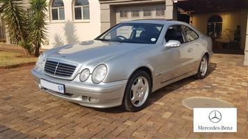 2001 Mercedes Benz CLK 320 coupé Elegance