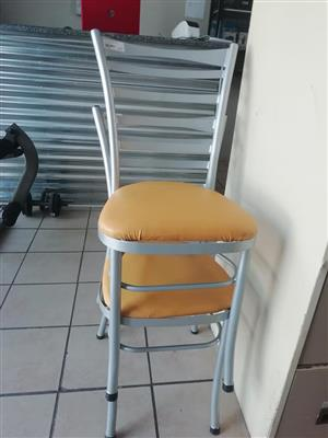 2 Yellow chairs for sale