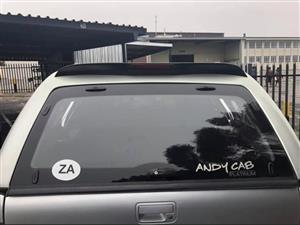 Andycab Double Cab Canopy and roll bar Amarok