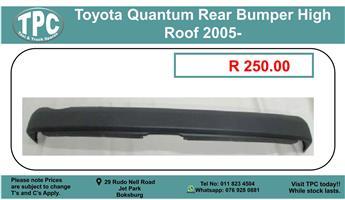 Toyota Quantum Rear Bumper High Roof 2005- For Sale.