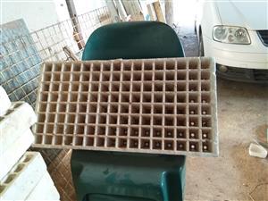 Polestyrene seed trays
