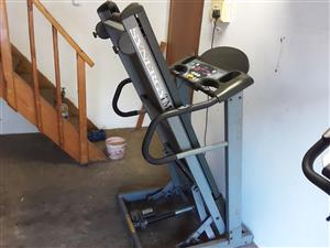Threadmill and excersize bike