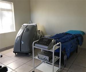 Ozone Sauna & Presso Therapy (Lymph Drainage)