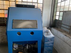 Industrial Sand blasting unit