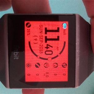 Fitbit Ionic Smart Watch/ Fitness Tracker